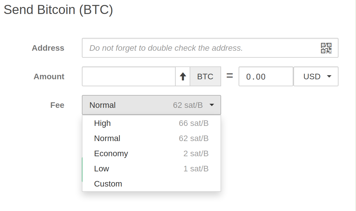 Bitcoin Fees for Transactions   dhwanytechnology.com